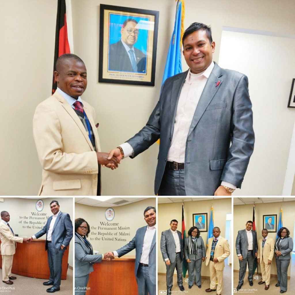 Bright Now meets with Republic of Malawi